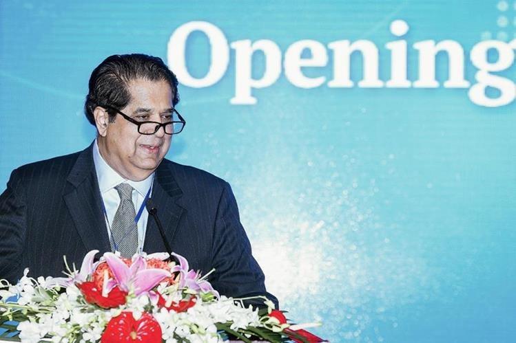 Kundapur Vaman Kamath es el presidente del Nuevo Banco de Desarrollo inaugurado hoy por el grupo Brics. (PL- EFE)