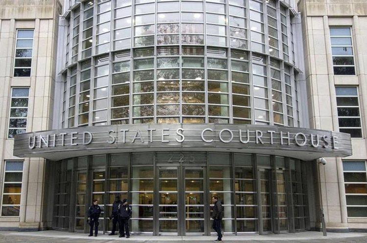 Corte en Brooklyn, Nueva York, donde será juzgado el Chapo Guzmán. (Foto Prensa Libre: Hemeroteca PL)