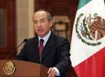 Felipe Calderón, expresidente de México. (Foto: Internet).