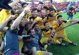 El Osasuna vuelve a la Liga española luego de su descenso hace dos años. (Foto Prensa Libre: Osasuna/Twitter)