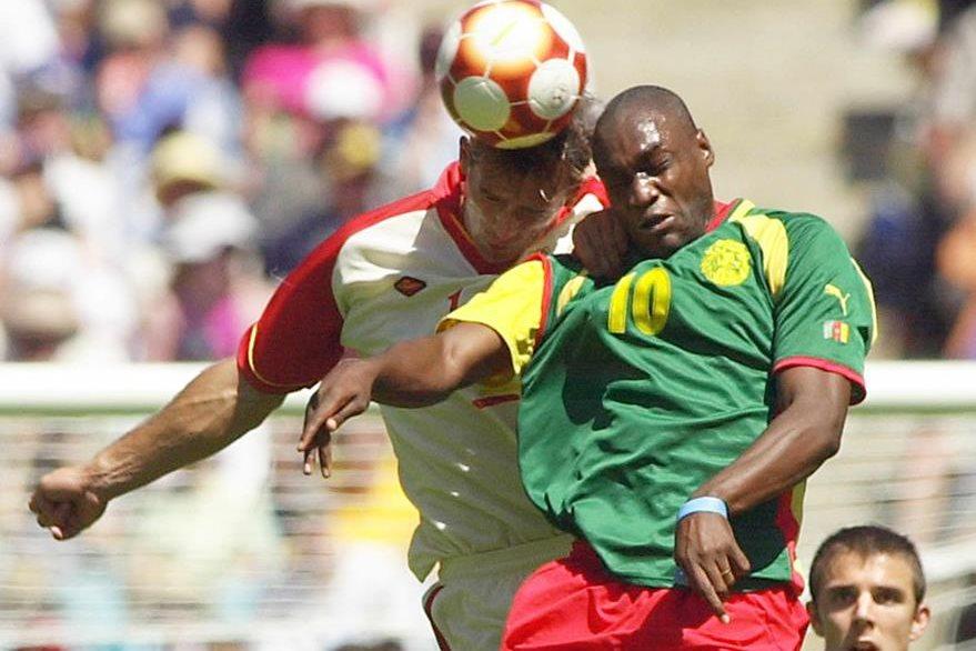 La selección de fútbol de Camerún se coronó con el oro en Sydney 2000. (AFP)