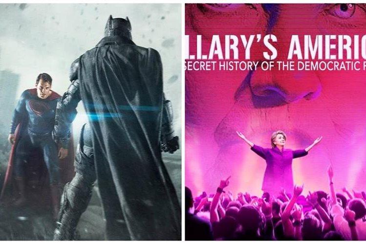 """""""Batman vs Superman"""" y un documental que critica a Hillary Clinton fueron los ganadores de los premios antióscar."""