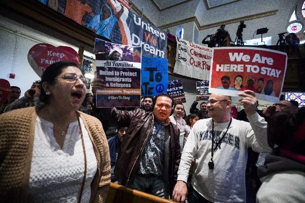 La manifestación fue una de las numerosas acciones en todo EE.UU. (EFE).