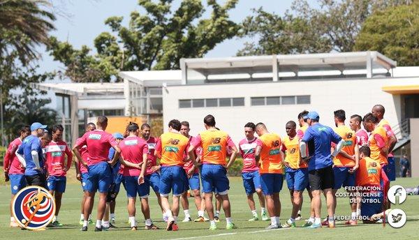 Costa Rica se muestra confiado en avanzar sin problemas a la hexagonal. (Foto Prensa Libre: Fedefutbol Costa Rica)