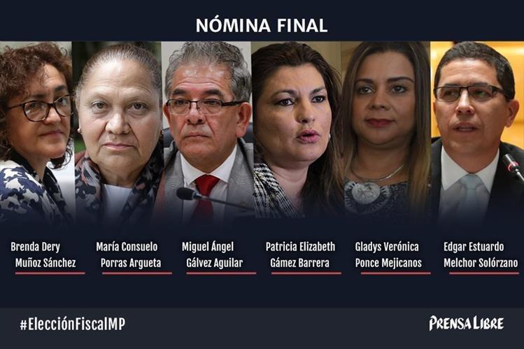 La Comisión de Postulación eligió a los seis candidatos para fiscal General y jefe del Ministerio Público. (Foto HemerotecaPL)