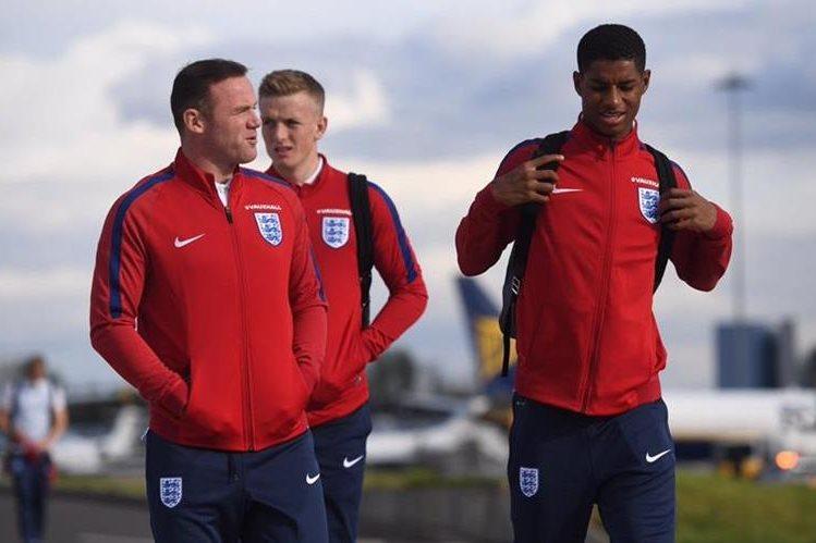 Los jugadores ingleses están listos para afrontar el próximo reto. (Foto Prensa Libre: Twitter Englad)