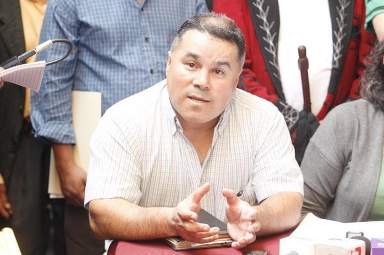 Héctor Reyes Chiquin, abogado de los querellantes. (Foto Prensa Libre: Hemeroteca PL)