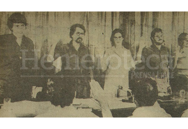 Sergio Ramírez, Daniel Ortega, Violeta Chamorro, Alfonso Rodelo y Moisés Hassán integraron la Junta de Reconstrucción Nacional de Nicaragua, luego del triunfo de la revolución sandinista del 19 de julio de 1979. (Foto: Hemeroteca PL)
