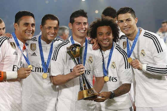 El Real Madrid, que ganó el título en el 2014 2-0 frente al San Lorenzo de Argentina, busca su segundo trofeo de esta competencia. (Foto Prensa Libre: Hemeroteca)