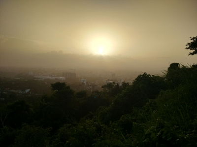 Se espera ingreso de polvo proveniente del Sahara