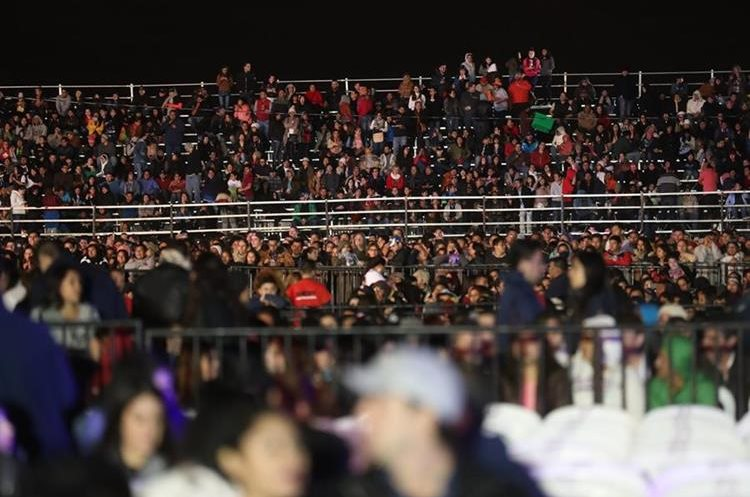 Seguidores de Arjona volvieron a llenar Cardales de Cayalá, por segunda noche consecutiva