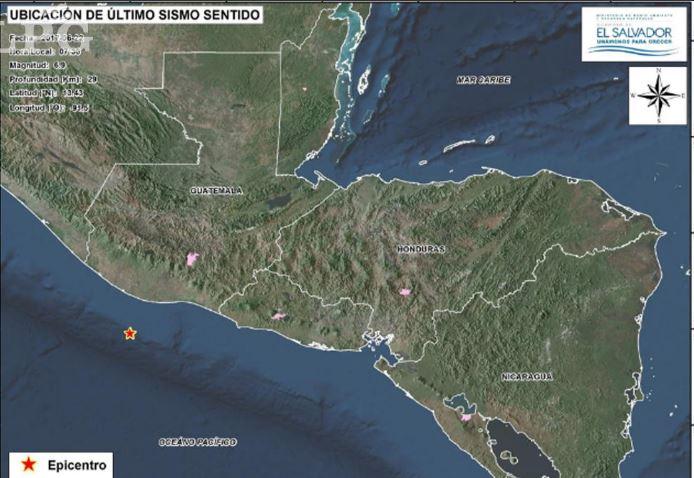 Sismo sacudió regiones de México, Guatemala, El Salvador y Honduras. (Foto: La Prensa Gráfica)