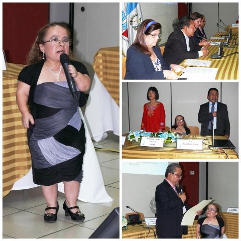 Rosa Aldana busca un escaño en el Comité de Expertos en Discapacidad de la ONU. (Foto Prensa Libre: Conadi)