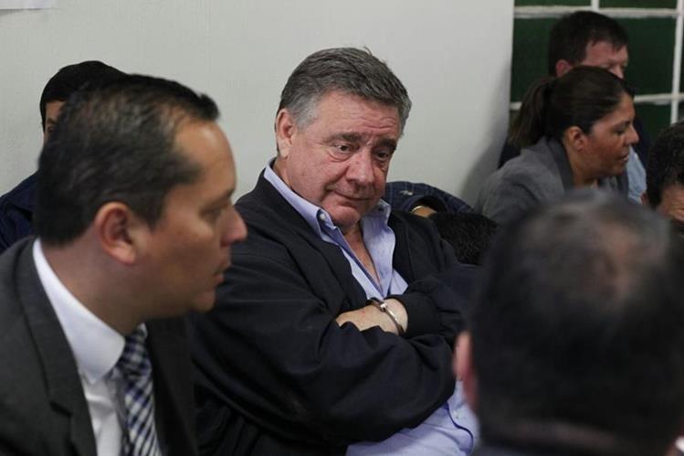 El empresario israeli Uri Roitman obtuvo varios contratos durante el gobierno del Partido Patriota. (Foto Prensa Libre: Paulo Raquec)