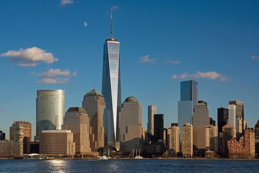 Nueva panorámica de la isla de Manhattan donde sobresale la Torre de la Libertad. (Foto: Hemeroteca PL)