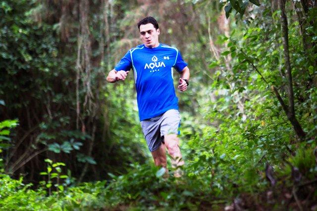El atleta Charlie Sarmiento ha destacado en las competencias de largas distancias. (Foto Prensa Libre Hemeroteca PL)
