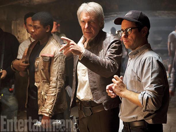 Harrison Ford durante la filmación. (Foto Prensa Libre: Entertainment Weekly)