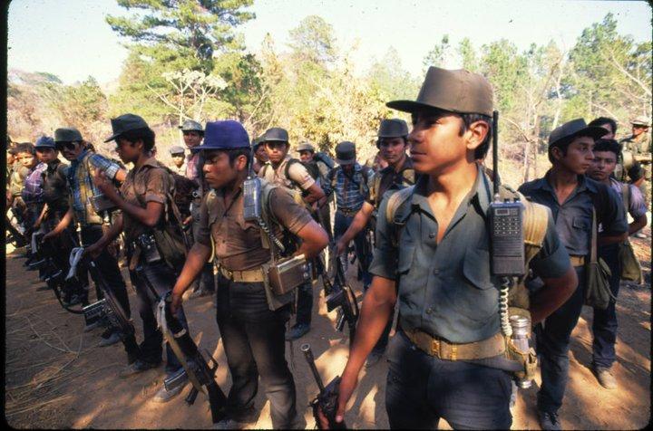 Integrantes del Frente Farabundo Martí para la Liberación Nacional (FMLN). (Foto: Internet