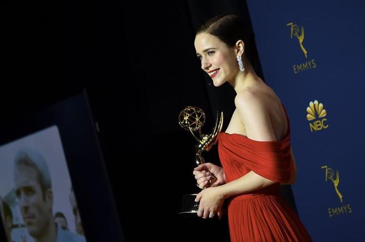Rachel Brosnahan (Foto Prensa Libre: AFP).