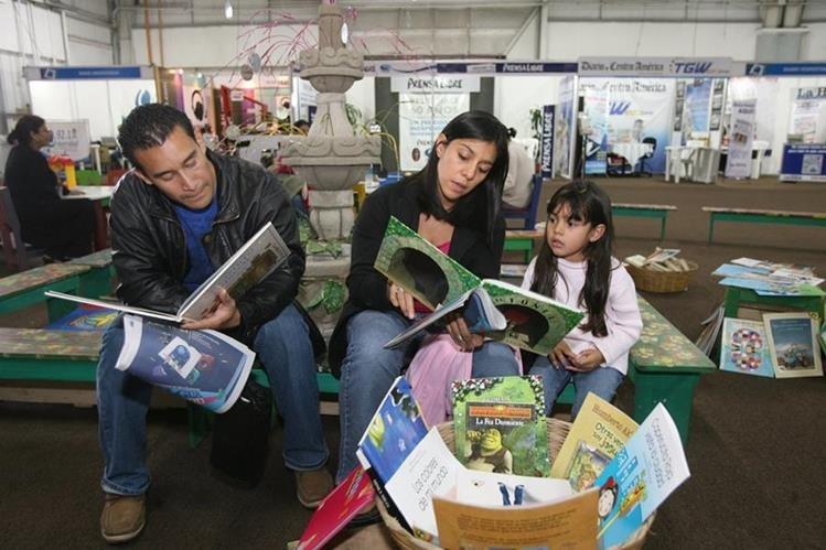 Organizadores buscan convertir la literatura infantil y juvenil en uno de sus pilares fundamentales (Foto Prensa Libre: Hemeroteca PL)