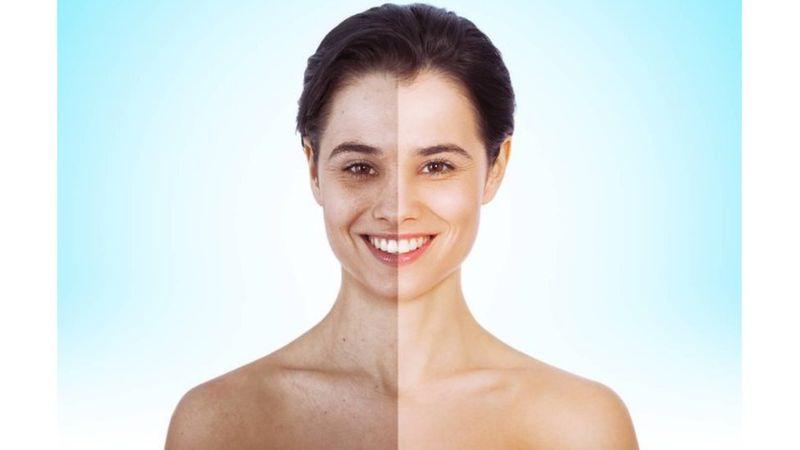 La nueva ley de Francia no afecta por ejemplo a imágenes en las que la apariencia de la piel fue modificada. (Getty Images).