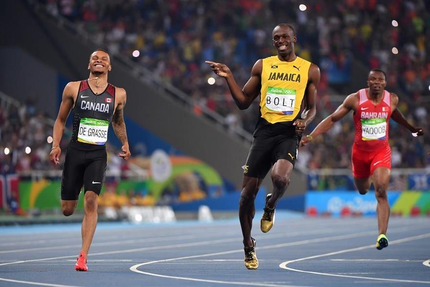 Bolt mostró ser una las más grandes figuras del mundo. (Foto Prensa Libre: AFP)