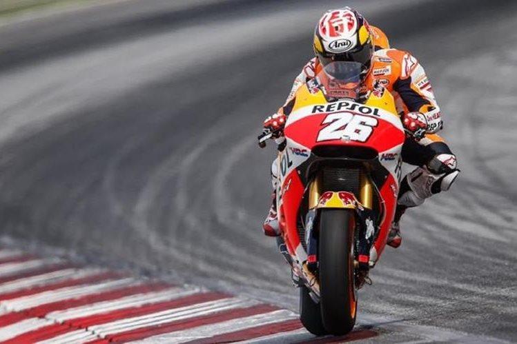 Dani Pedrosa renovó con el equipo de Honda por dos años más. (Hemeroteca)