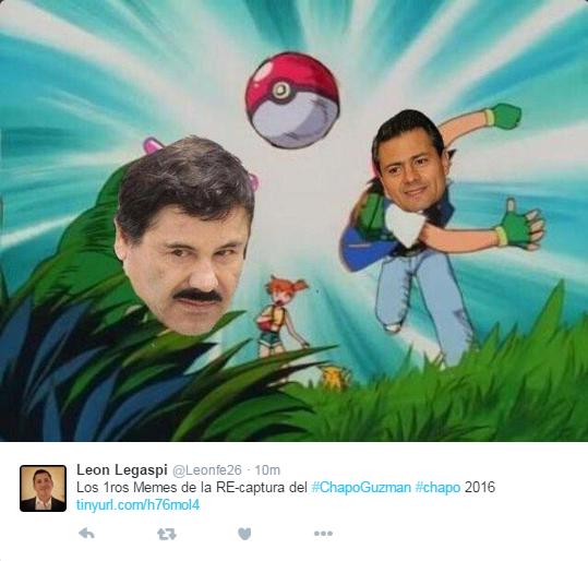 La imagen del Chapo Guzmán acapara la atención del mundo este viernes. (Foto Prensa Libre: AFP).