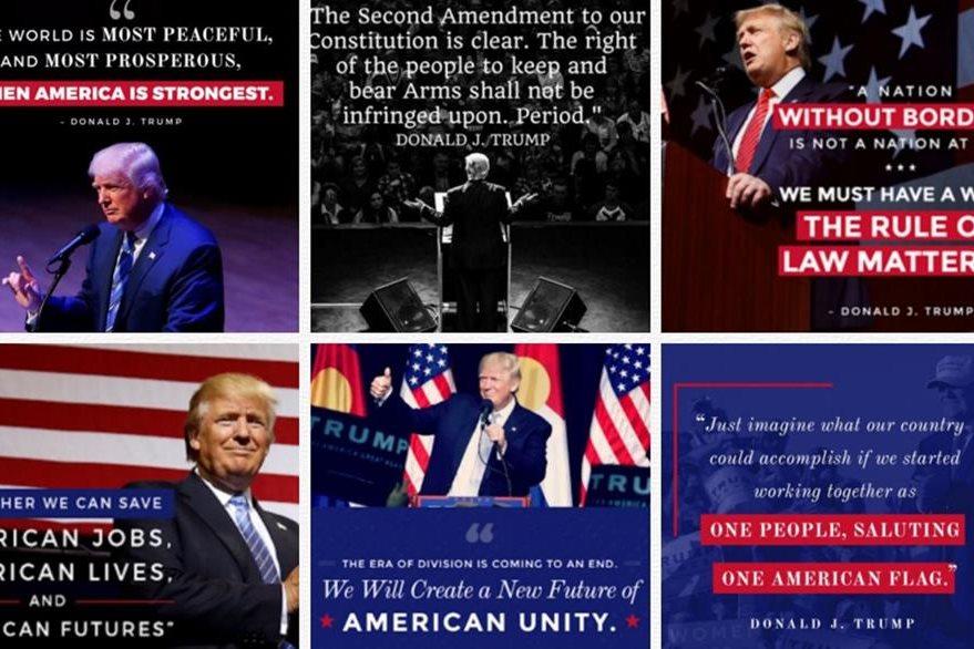 El candidato Donald Trump ha mostrado inclinación por la confrontación en sus discursos proselitistas. (Foto Prensa Libre: Internet)