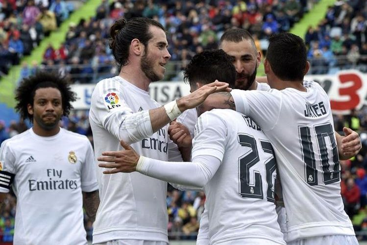 El Real Madrid superó con facilidad al Getafe este sábado. (Foto Prensa Libre: AFP)