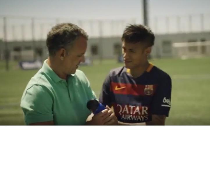 El Barcelona presenta nuevo comercial. (Foto Prensa Libre: You Tube).