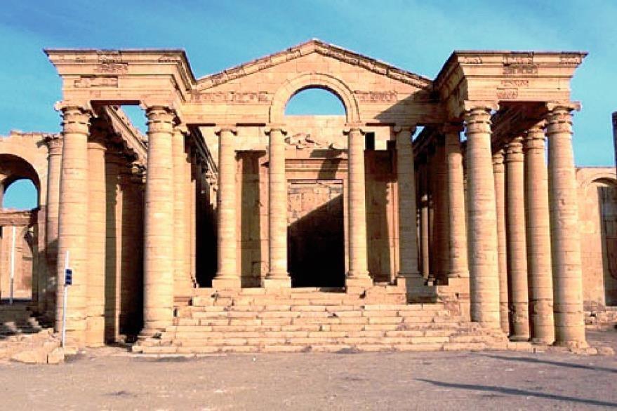 La ciudad de  Hatra podría ser el próximo objetivo de los yihadistas. (Foto Prensa Libre: Tomada de internet).