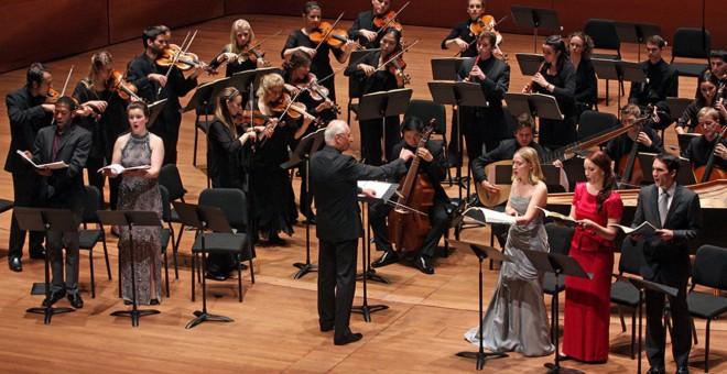 El director William Christie durante un concierto. (Foto Prensa Libre: hemeroteca PL)