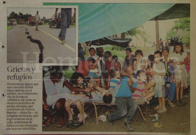 Detalle de la portada de Prensa Libre del 12 de julio de 1999. (Foto: Hemeroteca PL)