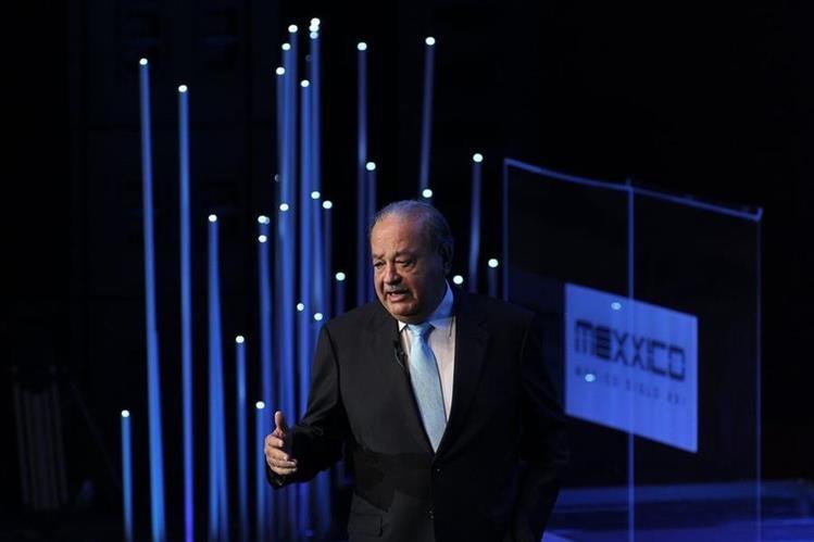 El empresario mexicano Carlos Slim, uno de los hombres más ricos del mundo. (Foto Prensa Libre: EFE)