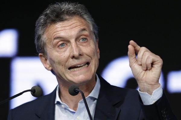 """Mauricio <span class=""""hps"""">Macri</span>, presidente de Argentina."""