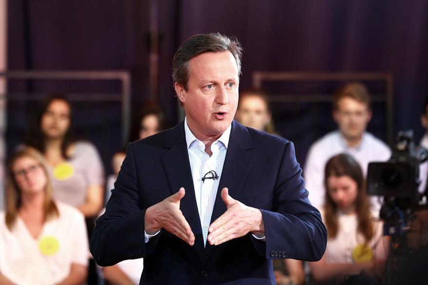 David Cameron, primer ministro de Inglaterra, está a fabor de quedarse en la UE. (AFP)