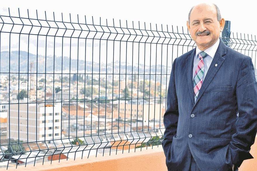 Léster Godínez, fundador de la Marimba Nacional de Concierto. (Foto Prensa Libre: Hemeroteca PL)