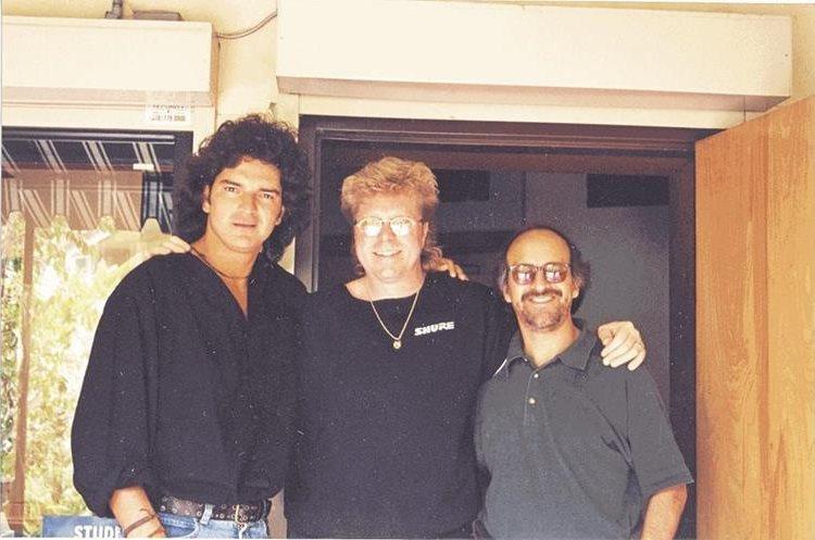 Ricardo Arjona en Los Angeles, California, durante la grabación del éxito <em>Si el norte fuera el sur</em>.