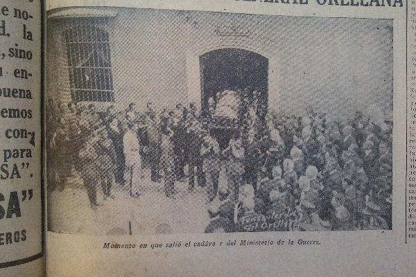 <p>Existe escasa documentación fotográfica de los funerales del expresidente José María Orellana.</p>