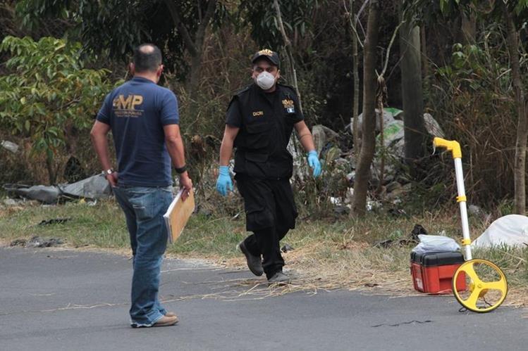 En enero y febrero de este año hubo incremento de muertes violentas, comparado con el 2016. (Foto Prensa Libre: Hemeroteca PL)