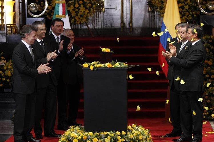 En México descansan los restos de Gabriel García Márquez, en la actualidad. (Foto Prensa Libre: Hemeroteca PL)