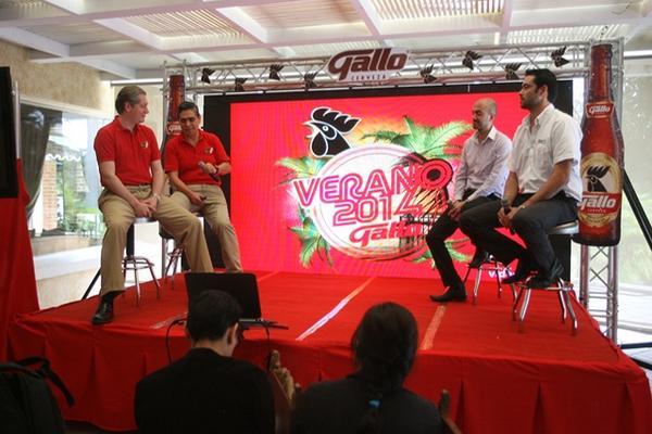 <p>Cerveza Gallo da a conocer las novedades del Gallo Evolution Fest 2014 (Foto Prensa Libre: BILLY QUIJADA).</p>