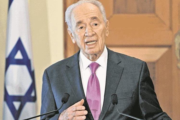 Shimon Peres en 2011 cuando fungía como Presidente de Israel. (Foto: AFP)