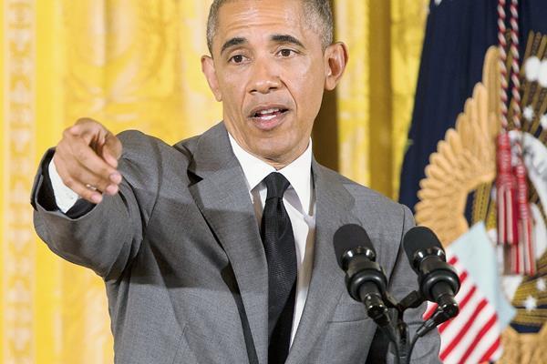 """Barack Obama  afirma que Israel corre el riesgo de perder su """"credibilidad"""" al mostrar su intransigencia sobre la creación de un Estado palestino. (Foto Prensa Libre:AFP)."""