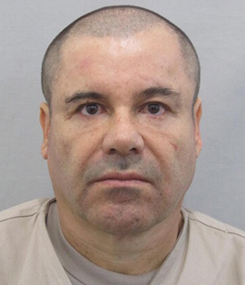 """Fotografía actual de Joaquín, """"el Chapo"""" Guzmán que lo muestra rapado, cuando aún estaba en prisión. (Foto Prensa Libre: AP)."""