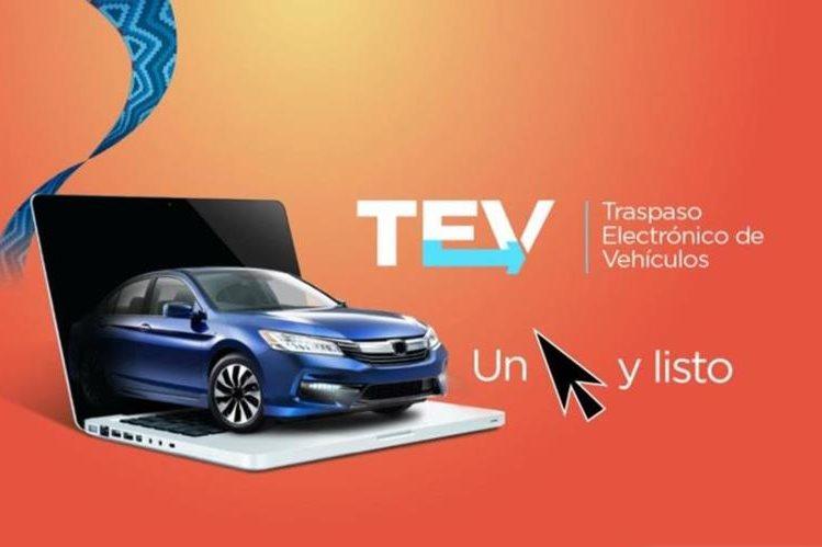 El trámite para los vehículos será agilizado. (Foto Prensa Libre: SAT)