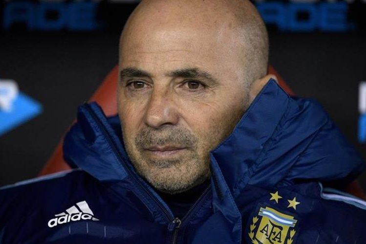 Sampaoli y Argentina se juegan el boleto al Mundial de Rusia en sólo dos fechas. (Foto Prensa Libre: Hemeroteca)