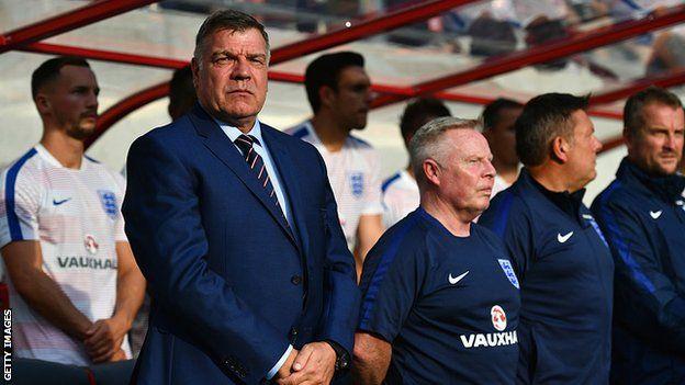 Allardyce sólo ha dirigido un partido como seleccionador de Inglaterra. (Getty)