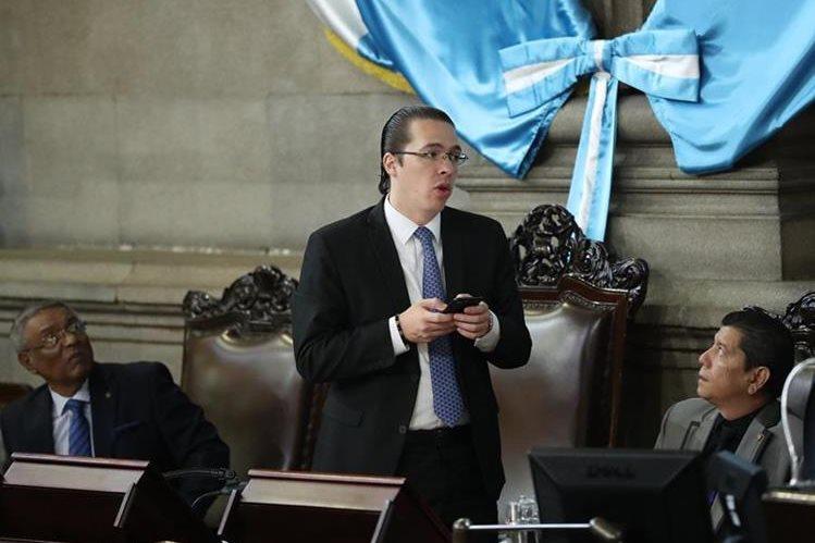 Felipe Alejos integra la junta directiva del Congreso. (Foto Prensa Libre: Hemeroteca PL).